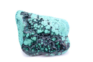 African Malachite with Chrysocholla
