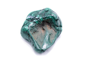 Malachite with Multiple Eyes