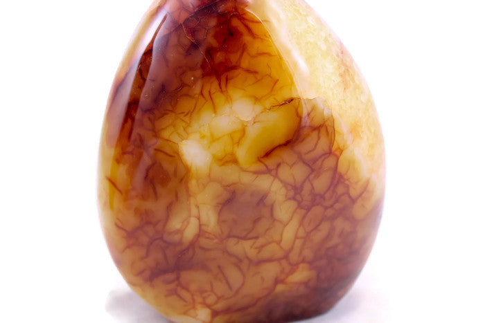Polished Carnelian Nodule