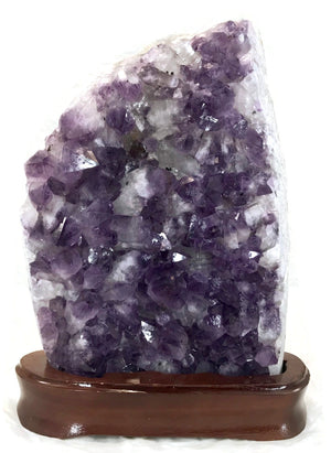 Amethyst and Quartz Crystal Cluster