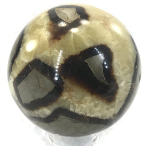 Substantial Septarian Sphere
