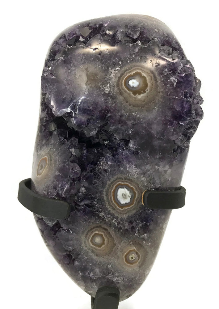 Eyes of Agate with Amethyst Freeform
