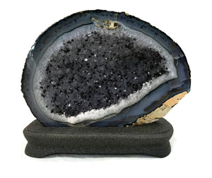 Speckled Agate Geode