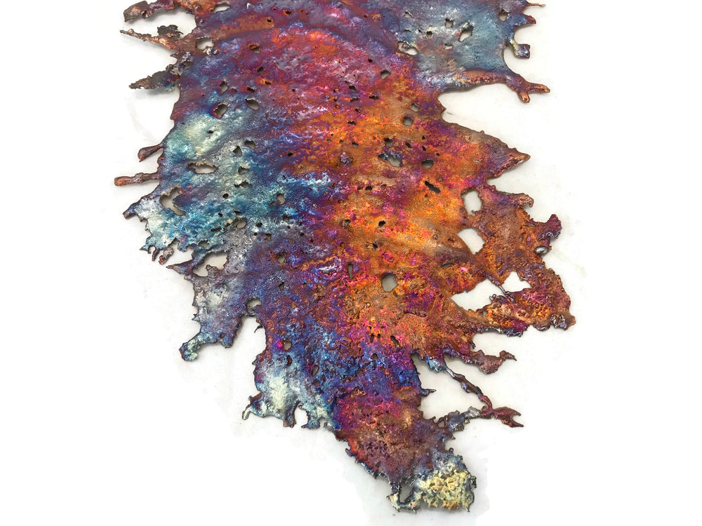 Lacy Rainbow Copper Splash Wall Decor