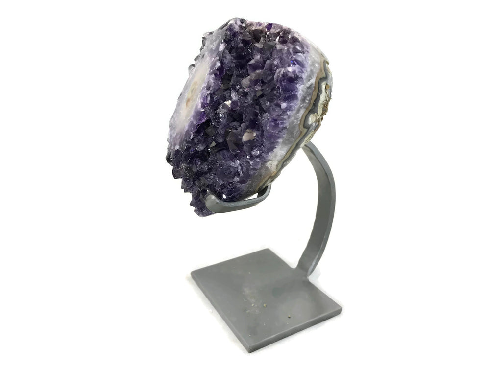 Amethyst with Magnificent Stalactite Eye
