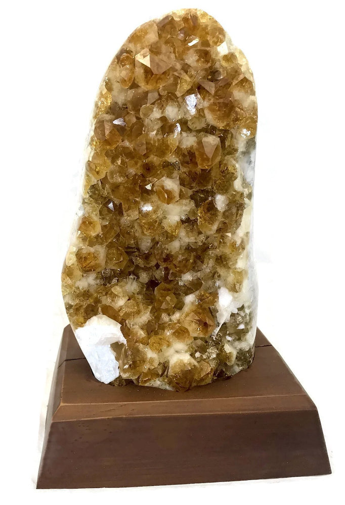 Polished Citrine Cluster
