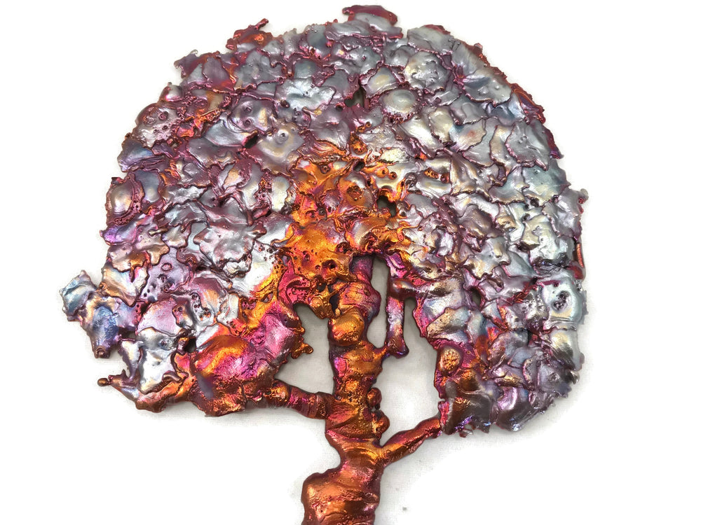 Splash Copper Tree Wall Art