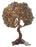 Splash Copper Tree Sculpture