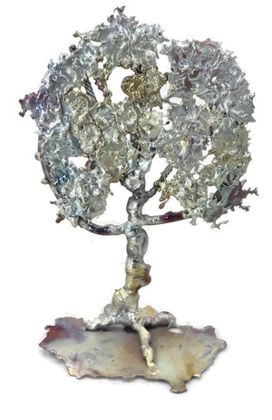 Standing Splash Copper Tree