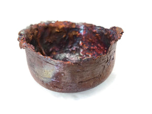Small Splash Copper Bowl