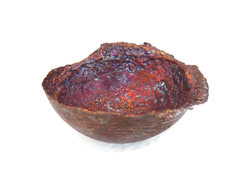 Large Copper Splash Bowl