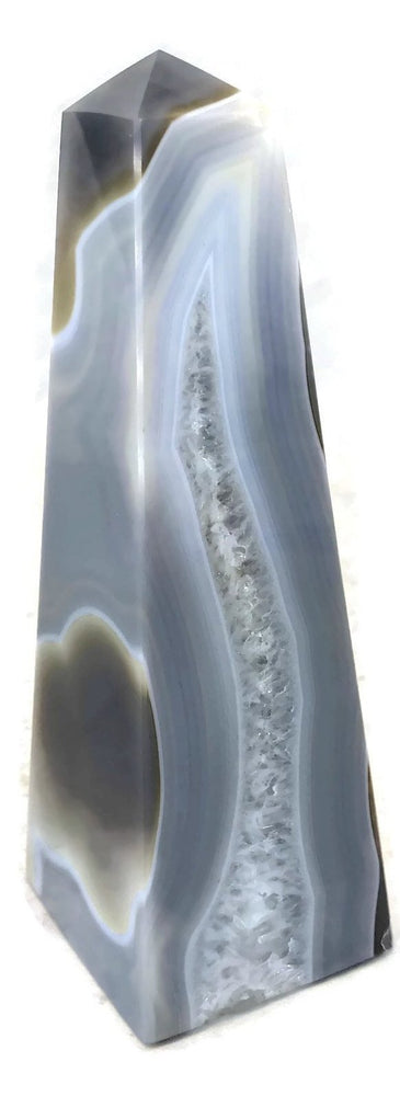 Ornate Agate Obelisk