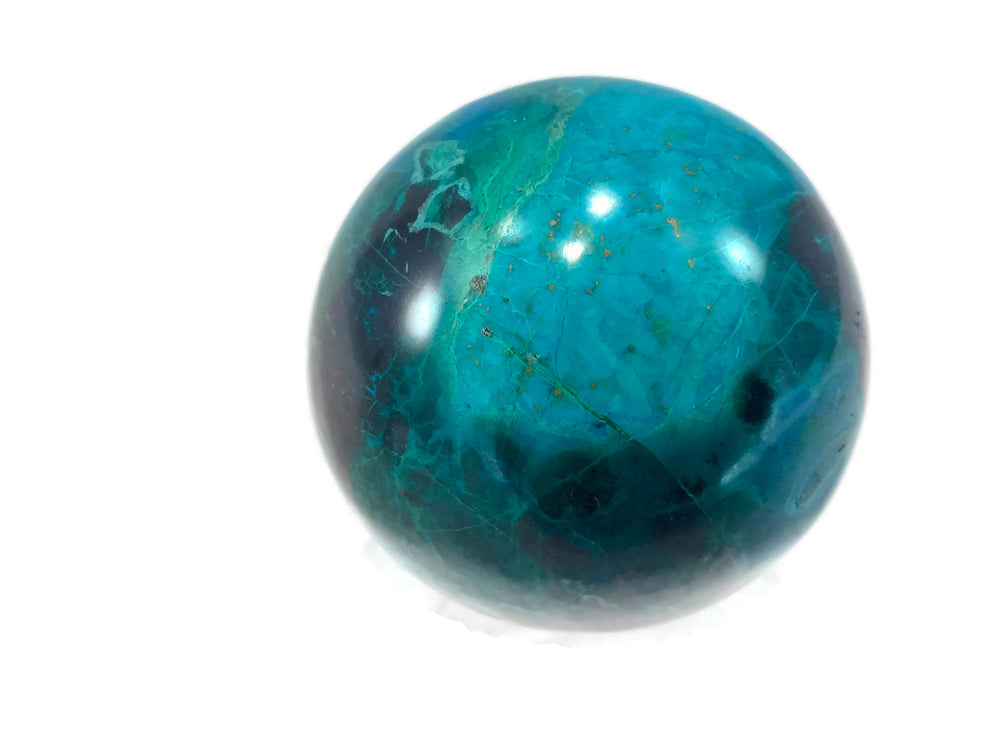 Malachite/Chrysocolla Sphere
