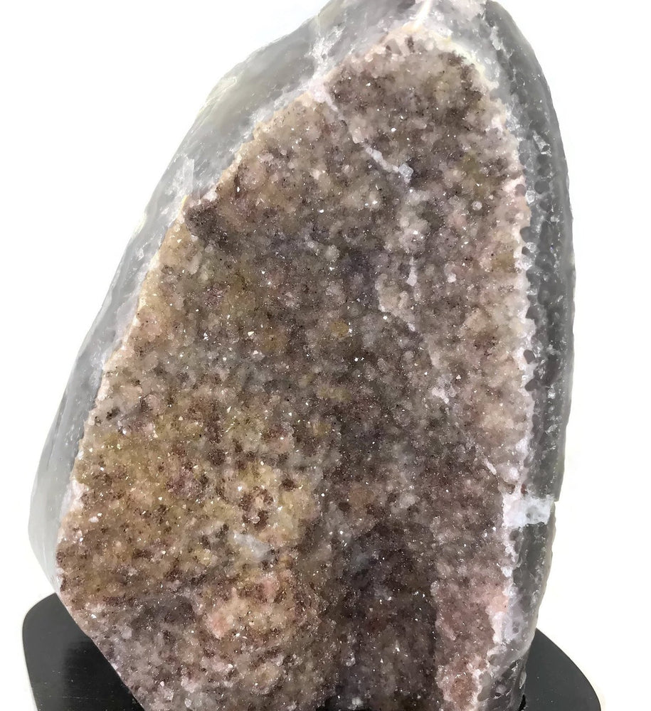 Speckled Microcrystalline Quartz over Agate
