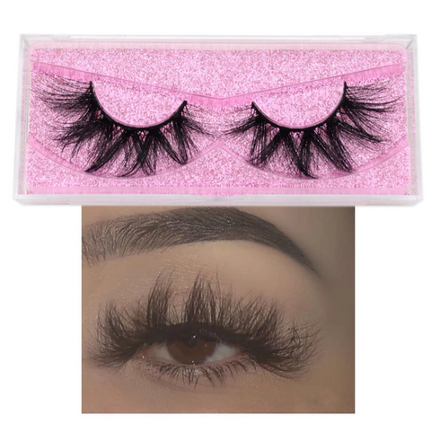 Rose- 3D Lashes - Kay Nicole Cosmetics