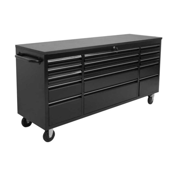 1.8M Black Powder Coated Workbench Tool Chest