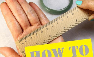 Jade Bangle Sizing Guide: How to measure to fit your wrist