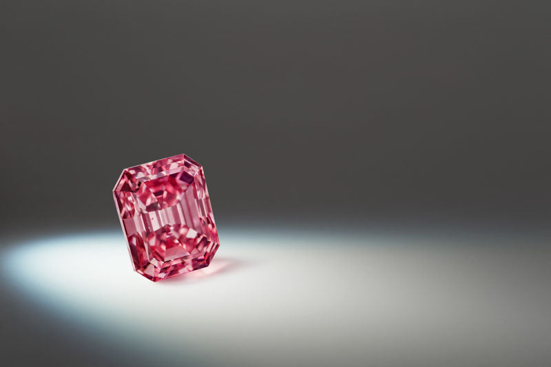 An investment grade pink diamond from the Argyle Diamond Mine, WA