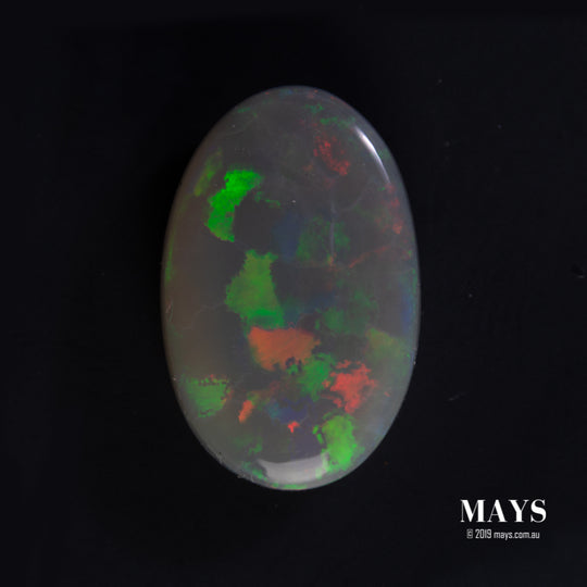 4.47ct Lighting Ridge Australian Opal - maysgems