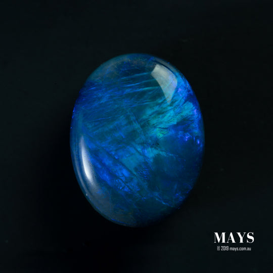 4.75ct Blue Lighting Ridge Opal - MAYS