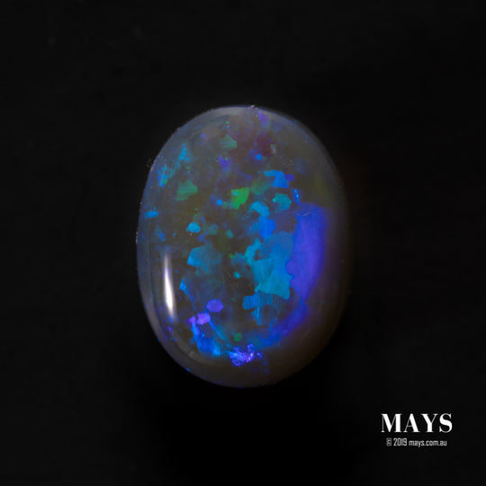 2.00ct Lighting Ridge Blue Australian Opal - maysgems