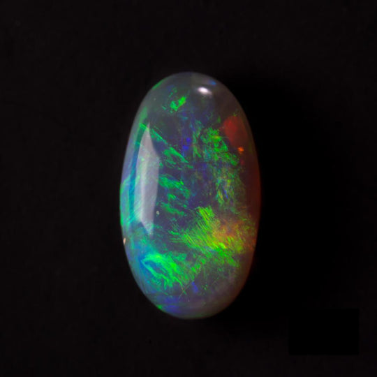 1.26ct Green Australian Opal Lighting Ridge - maysgems