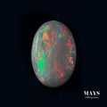 1.11ct Orange Lighting Ridge Solid Opal - MAYS