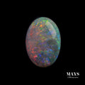 1.47ct Lighting Ridge Solid Opal Yellow Orange Flashes - MAYS