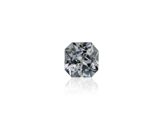 1.06ct Platinum Grey Spinel - maysgems