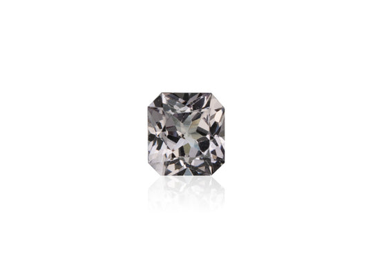 0.98ct Platinum Grey Spinel - maysgems