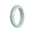 56mm Green Burmese Jadeite Jade Bangle Bracelet - MAYS