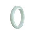 54mm Green Burmese Jadeite Jade Bangle Bracelet - MAYS