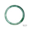 68mm Green Burmese Jadeite Jade Bangle Bracelet - MAYS
