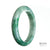 68mm Green Burmese Jadeite Jade Bangle Bracelet