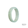 50mm Green Burmese Jadeite Jade Bangle Bracelet