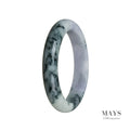 55mm Grade A Jadeite Jade Bangle - MAYS
