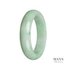 62mm Grade A Jadeite Jade Bangle