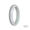 60mm Grade A Jadeite Jade Bangle