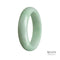 57mm Grade A Jadeite Jade Bangle - MAYS
