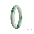 56mm Grade A Jadeite Jade Bangle - MAYS