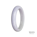59mm Grade A Jadeite Jade Bangle - MAYS