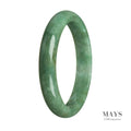 65mm Grade A Jadeite Jade Bangle - MAYS