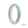57mm Grade A Jadeite Jade Bangle