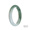 55mm Grade A Jadeite Jade Bangle