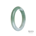 53mm Grade A Jadeite Jade Bangle - MAYS