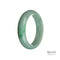 55mm Natural Grade A Jade Bangle Bracelet