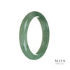 59mm Natural Grade A Jade Bangle Bracelet