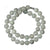 Grey Jade Bead Necklace - MAYS