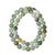 Multi Colour Jade Bead Necklace - maysgems