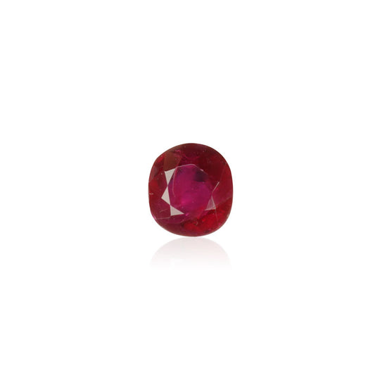 0.57ct  Pigeon Blood Burmese Ruby - maysgems